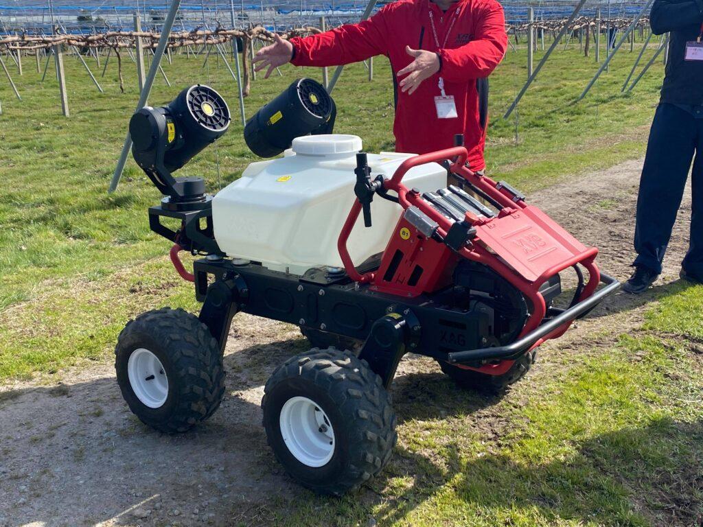 XAG社 北陸初の農業用無人車R150(無人ドローン)お披露目会について