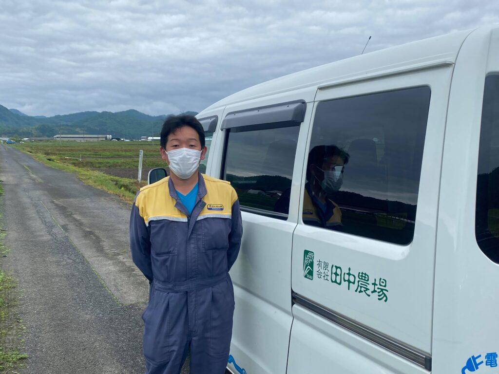 【訪問日誌】鳥取県八頭町でお米や大豆、野菜の生産をされている「有限会社田中農場」さまにお邪魔しました🌾